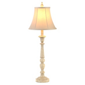 Harmon White Buffet Lamp