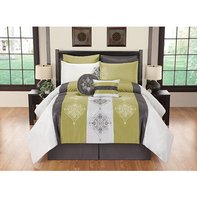 Queen Simone 8-pc. Comforter Set