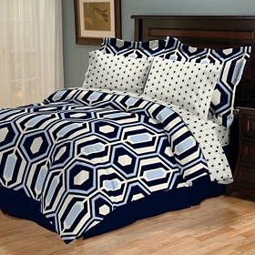 King Encore 8-pc. Reversible Comforter Set