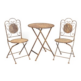 Rustic 3-pc. Folding Patio Set