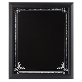 Chalkboard Framed Wall Plaque