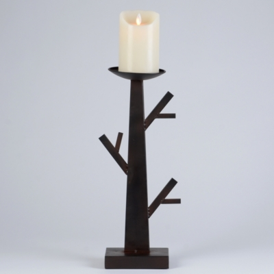 Metal Branch Candle Holder, 15 in.