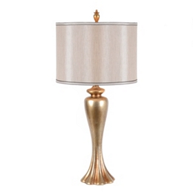 Bardot Champagne Table Lamp