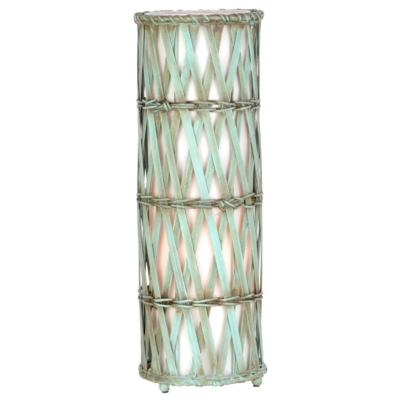 Turquoise Bamboo Uplight