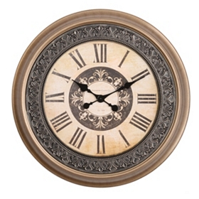 Lucie Champagne Clock