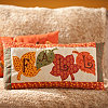 Fall Patchwork Accent Pillow