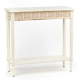 Cates Cream Console Table