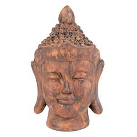 Terra Cotta Ceramic Buddha Statue