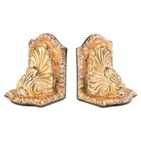 Golden Bookend, Set of 2