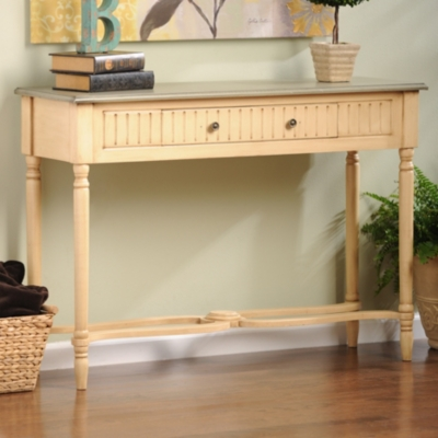 Loulou Cream Console Table