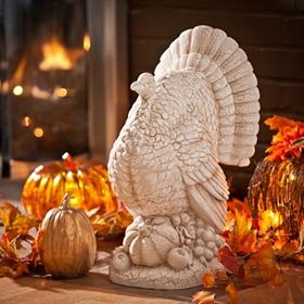 Ivory Turkey Statue