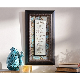 Will Of God Framed Art Print