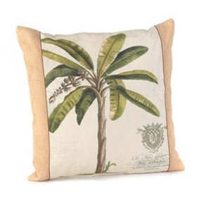 Palm Fresco Outdoor Pillow