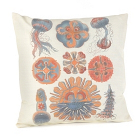 Sophisticated Sealife Outdoor Pillow