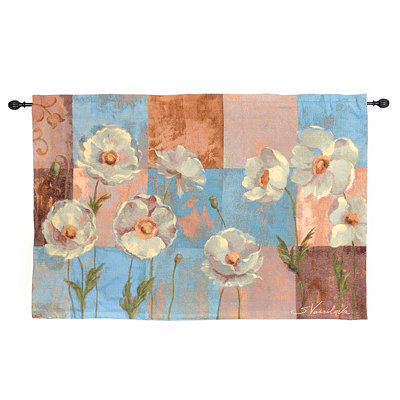 Whispering Flowers Tapestry Set