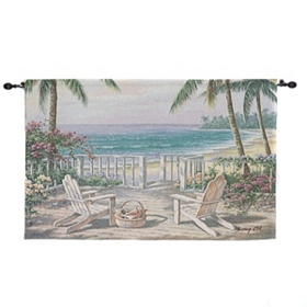 Coastal View Tapestry Set