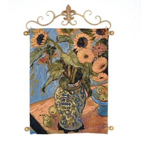 Sunflower & Pears Tapestry Set