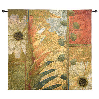 Botanical Tile Tapestry Set