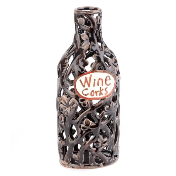 Ceramic Wine Cork Holder