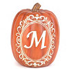 Monogram M Pumpkin