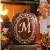 Monogram M Pumpkin