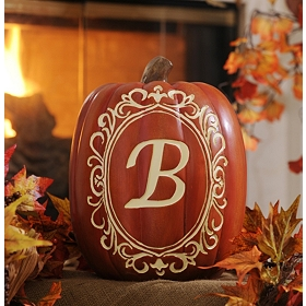 Monogram B Pumpkin