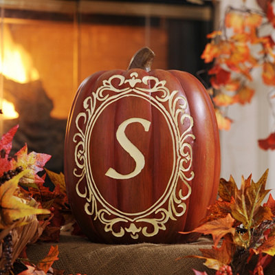 Monogram S Pumpkin