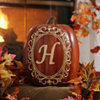 Monogram H Pumpkin