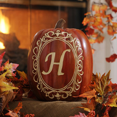Monogram H Pumpkin