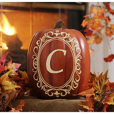 Monogram C Pumpkin