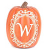 Monogram W Pumpkin