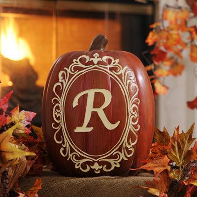 Monogram R Pumpkin
