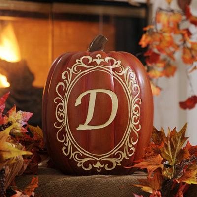 Monogram D Pumpkin