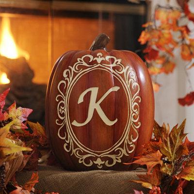 Monogram K Pumpkin