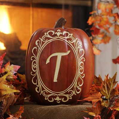 Monogram T Pumpkin