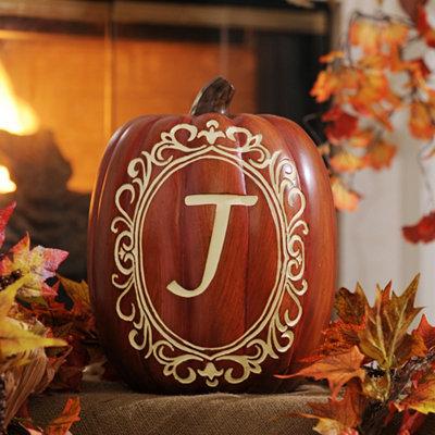 Monogram J Pumpkin