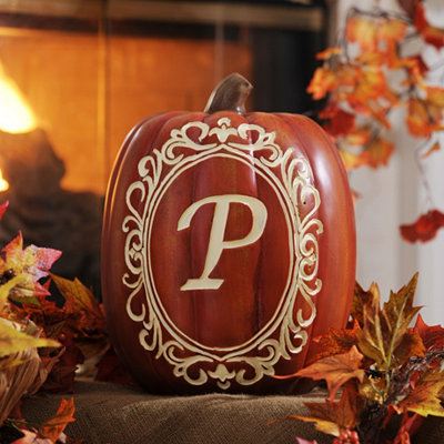 Monogram P Pumpkin