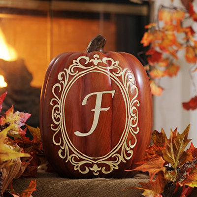 Monogram F Pumpkin