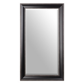 Black Rectangle Mirror, 24x48