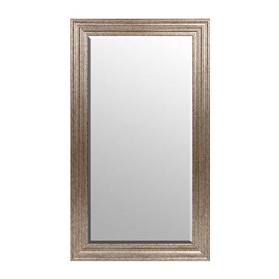 Antique Silver Frame Mirror, 32x56