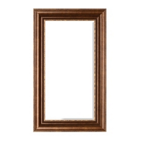 Champagne Classic Framed Mirror, 18x30