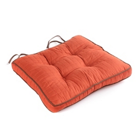 Spice Quilted Chair Pad