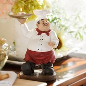 Chef Tray Statue