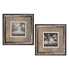 Girard Sepia Framed Art Print, Set of 2
