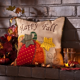 Happy Fall Accent Pillow