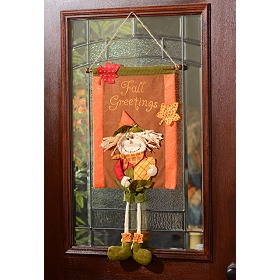 Scarecrow Tapestry Wall Hanger