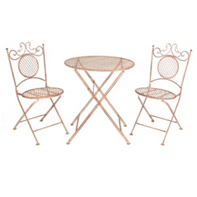 Bronze Bistro 3-pc. Folding Patio Set
