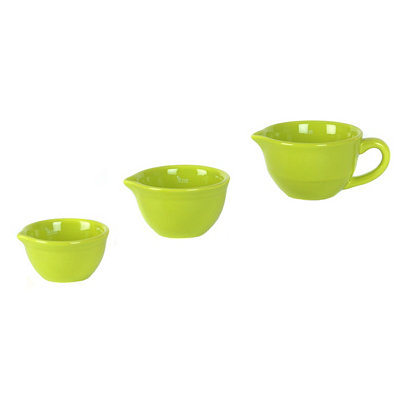 Fiesta Lime Mini Mixing Bowl, Set of 3