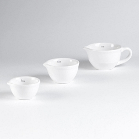 White Mini Mixing Bowl, Set of 3
