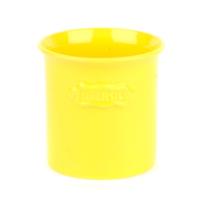 Sunny Yellow Utensil Holder